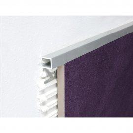 Profil zakończeniowy A87 srebrna 10 mm 2,7 m EFFECTOR
