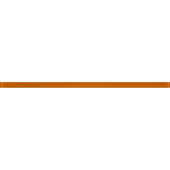 Gres szkliwiony PLAYA bursztynowy listwa szklana poler 3x89,5 gat. I