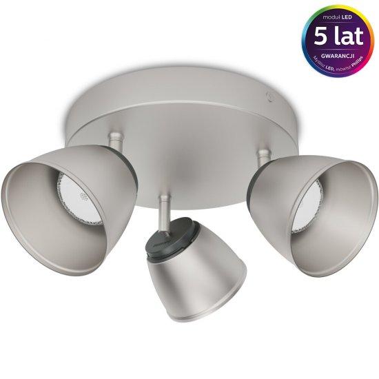 Lampa sufitowa COUNTY 3xLED 53353/17/16 Philips