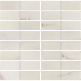 Płytka ścienna CARRARA biała mozaika błyszcząca 29x29,5 gat. I
