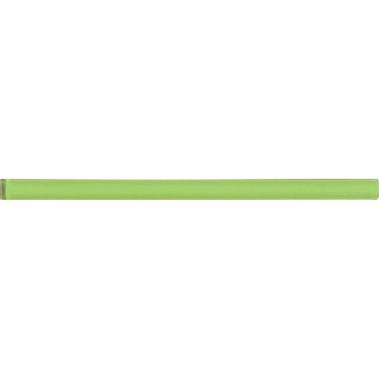 Płytka ścienna AROMA zielona listwa szklana 1,5x25 gat. I