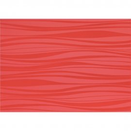 Płytka ścienna LUNA czerwona mat 25x35 gat. I