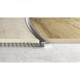 Profil łączeniowy gięty S92 srebrna 2,5 m EFFECTOR