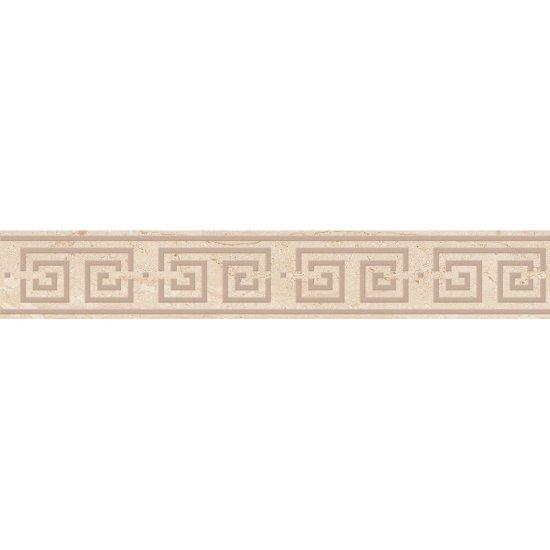 Gres szkliwiony DAINO kremowy listwa classic lappato 7,2x44,6 gat. I