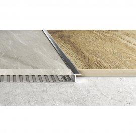 Profil łączeniowy płaski A57 srebrna 2,5 m EFFECTOR