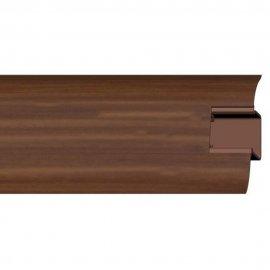 Listwa przypodłogowa 44 PVC mahoń H2 dł. 2,5m A-4LCOX-H2-250 Prexa