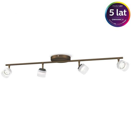 Lampa sufitowa FREMONT 4xLED 53334/06/16 Philips