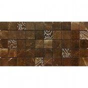 Gres szkliwiony ARKOS brązowy mozaika kwadraty classic poler 22,2x44,6 gat. I