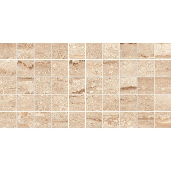 Gres szkliwiony DAINO beżowy mozaika lappato 22,2x44,6 gat. I
