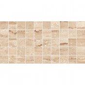 Gres szkliwiony DAINO beżowy mozaika lappato 22,4x44,6 gat. I