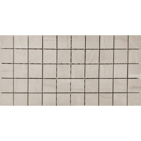 Gres szkliwiony DAINO kremowy mozaika lappato 22,2x44,6 gat. I