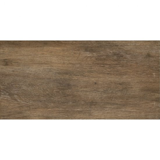 Gres szkliwiony SILENT WOOD brązowy mat 29,7x59,8 gat. II