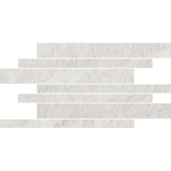 Gres szkliwiony YAKARA biały mozaika 22,2x44,6 gat. I