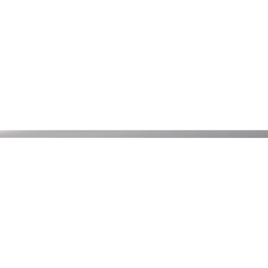 Płytka ścienna METALIC szara listwa mat 1,5x59,8 gat. I