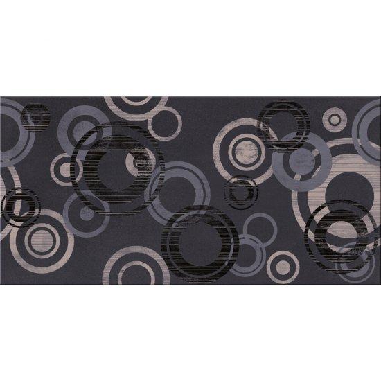Gres szkliwiony AMARANTE grafitowy inserto modern poler 29,7x59,8 gat. I