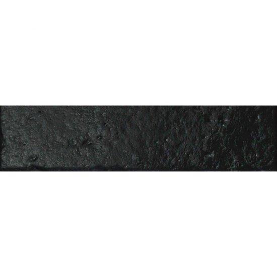 Gres hiszpański LADRILLO NEGRO czarna cegła 6x24,5