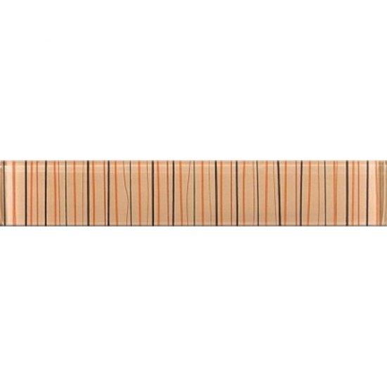 Płytka ścienna LINERO beżowa listwa błyszcząca 5x29 gat. I