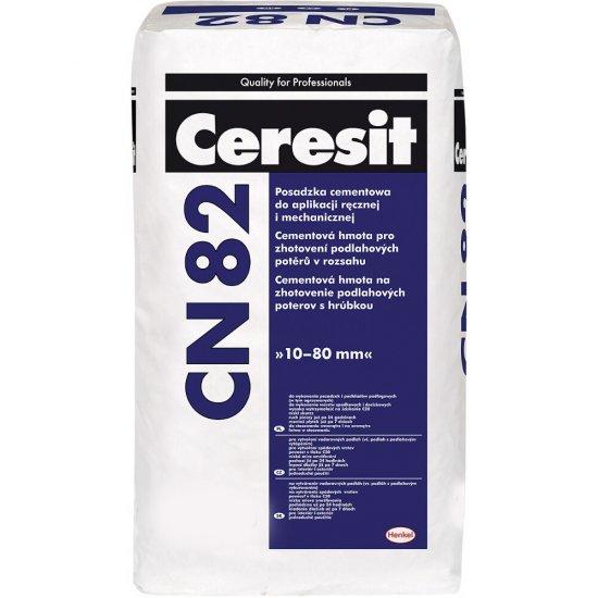 Posadzka cementowa CERESIT CN 82 do aplikacji ręcznej i mechanicznej 30 kg