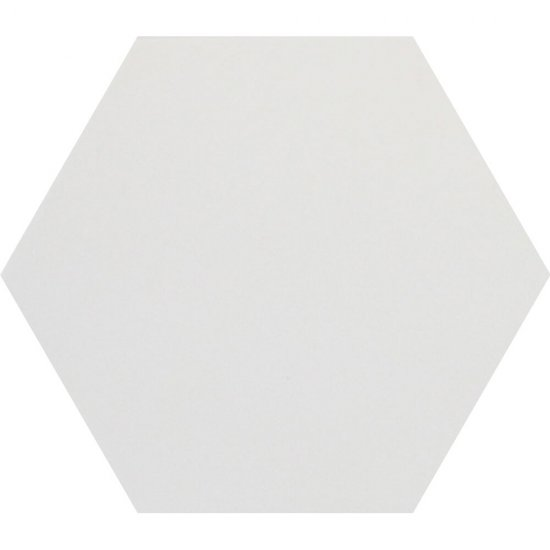 Gres hiszpański heksagonalny HEXAGONAL biały 20
