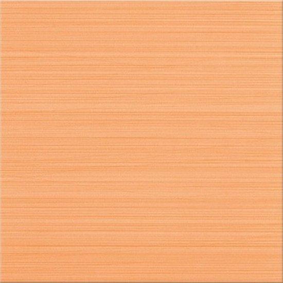 Gres szkliwiony LINERO pomarańczowy poler 29x29 gat. I