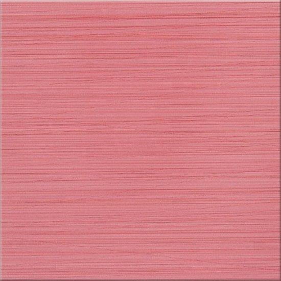 Gres szkliwiony LINERO różowy poler 29x29 gat. I