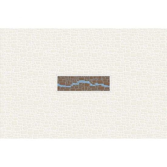 Płytka ścienna POLINESIA niebieska inserto modern mat 30x45 gat. I