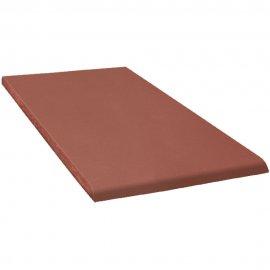Klinkier LOFT czerwony parapet B mat 13,5x24,5 gat. I