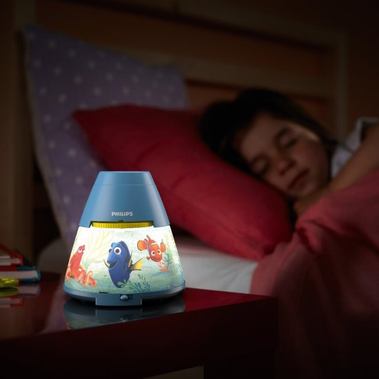 Lampa dziecięca LED DORY Projector 71769/90/16 Philips