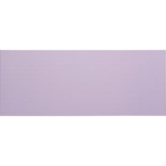 Płytka ścienna SYNTHIA fioletowa błyszcząca 20x50 gat. I