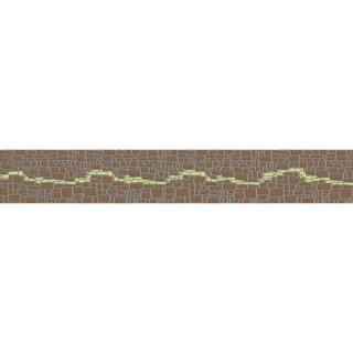 Płytka ścienna Polinesia zielona modern 45x7 Opoczno