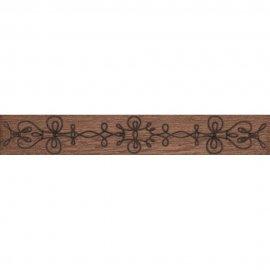 Gres szkliwiony ANCONA brązowy listwa classic mat 9x59,3 gat. I