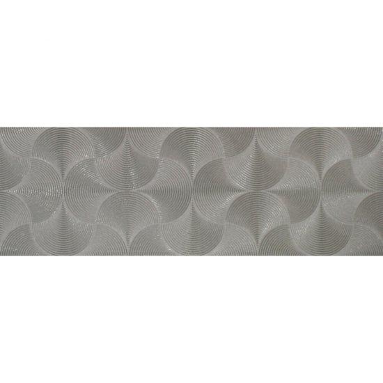 Płytka hiszpańska ścienna PLINIO szara 25x75