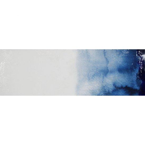 Dekor hiszpański KOLORY niebieski 1 30x90 ściana