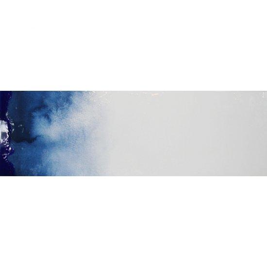 Dekor hiszpański KOLORY niebieski 2 30x90 ściana