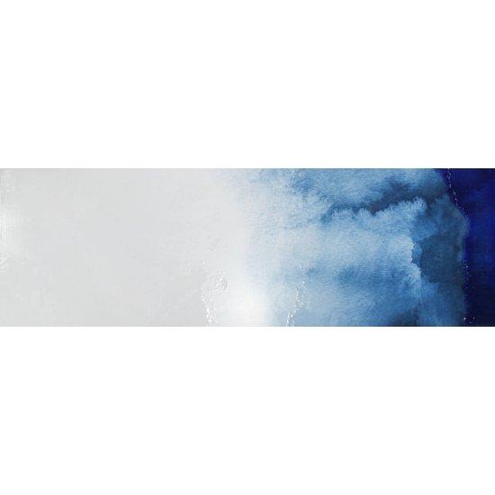 Dekor hiszpański KOLORY niebieski 5 30x90 ściana