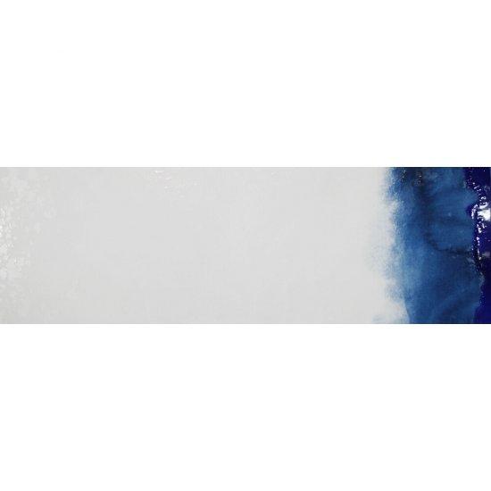 Dekor hiszpański KOLORY niebieski 6 30x90 ściana