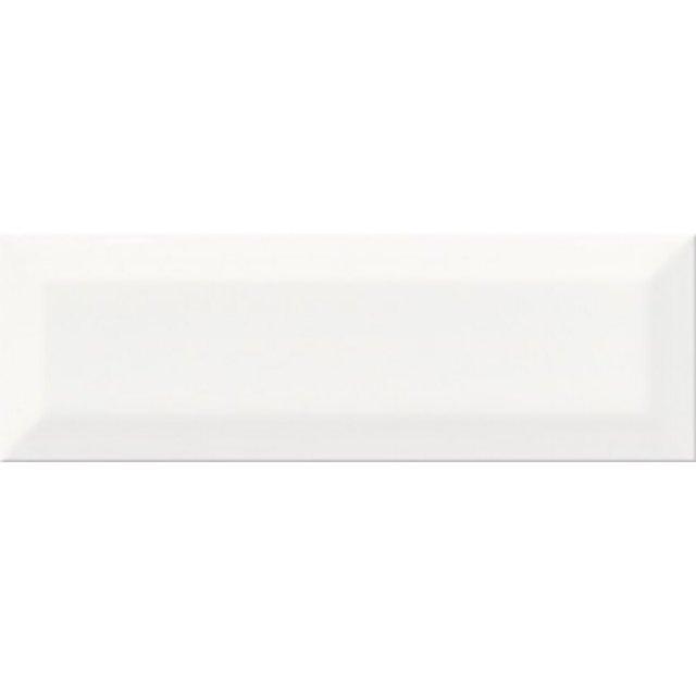 Płytka ścienna METRO STYLE biała struktura błyszcząca 10x30 gat. II