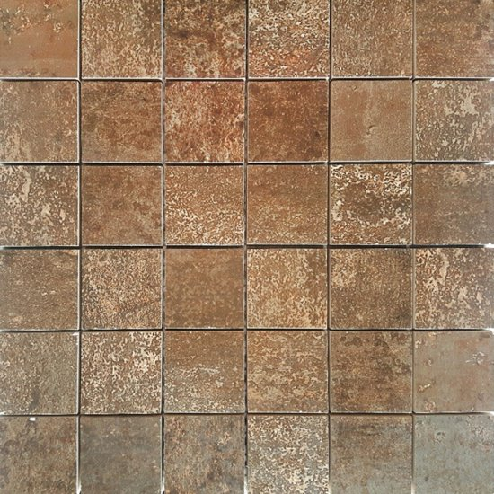 Mozaika hiszpańska HIERRO miedziany 30x30