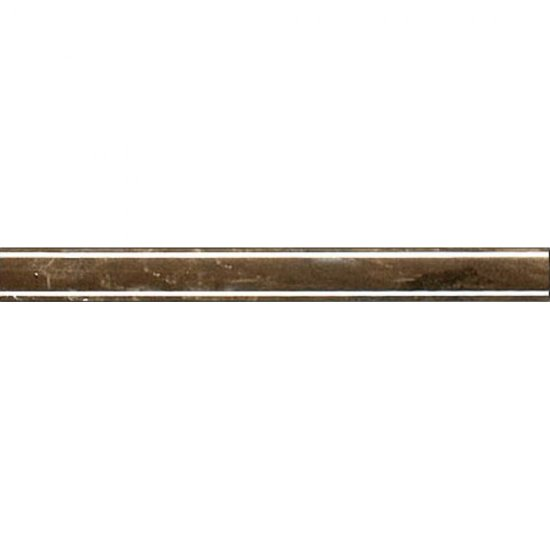 Płytka ścienna SENSA brązowa listwa cygaro classic błyszcząca 2x20 gat. I