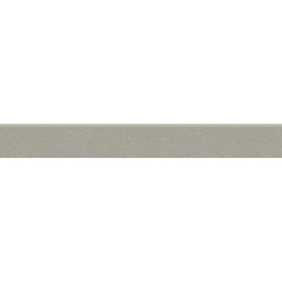 Gres zdobiony MOONDUST jasnoszary cokół mat 7,2x59,4 gat. I*