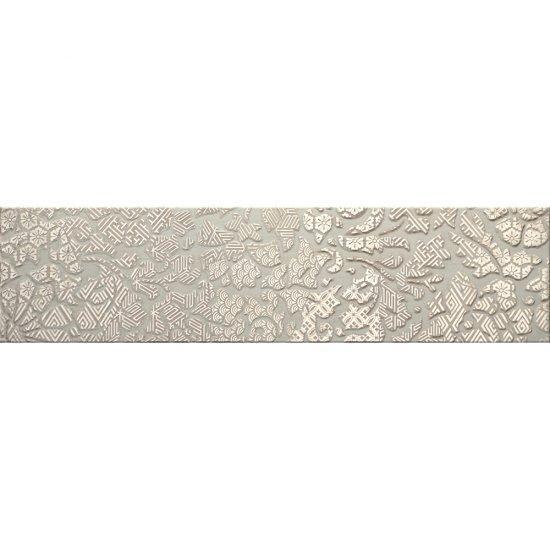 Gres szkliwiony NATURALE srebrny listwa A mat 14,8x59,8 gat. I