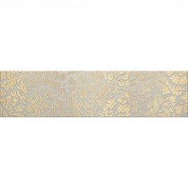 Gres szkliwiony NATURALE złoty listwa classic A mat 14,8x59,8 gat. I