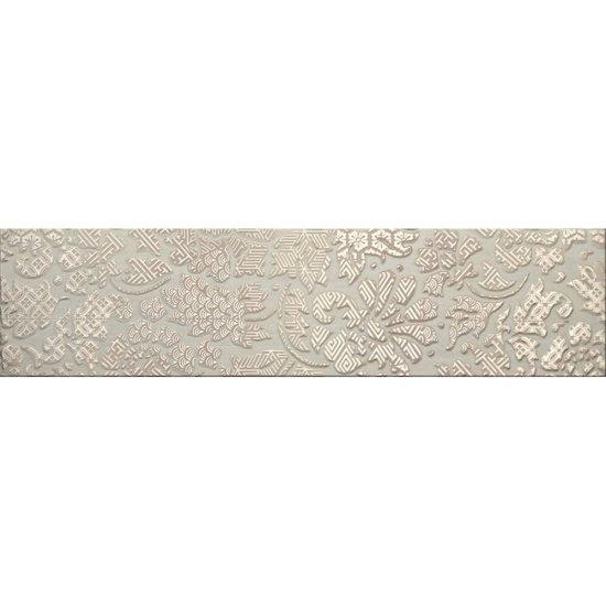 Gres szkliwiony NATURALE srebrny listwa B mat 14,8x59,8 gat. I