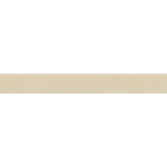 Gres zdobiony MOONDUST kremowy cokół mat 7,2x59,4 gat. I*