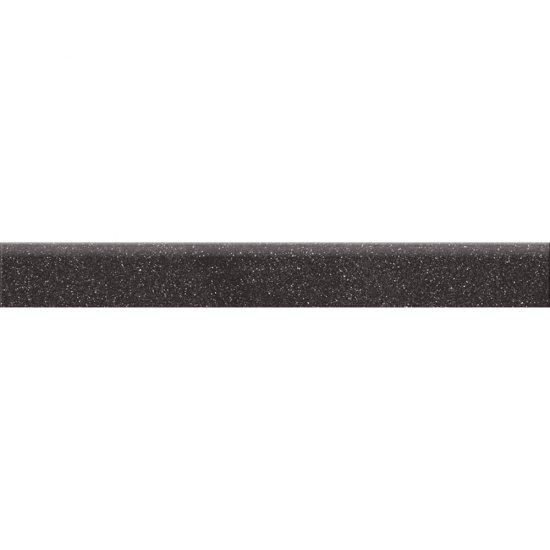 Gres zdobiony KANDO antracytowy cokół mat 7,2x59,4 gat. I