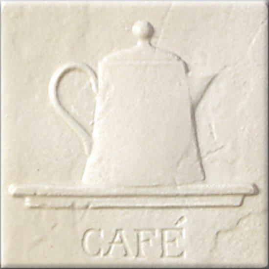 Płytka ścienna AŁTAJ beżowa inserto classic mat CAFE 10x10 gat. I