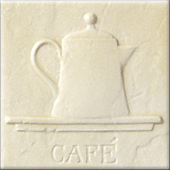 Płytka ścienna AŁTAJ kremowa inserto classic CAFE mat 10x10 gat. I