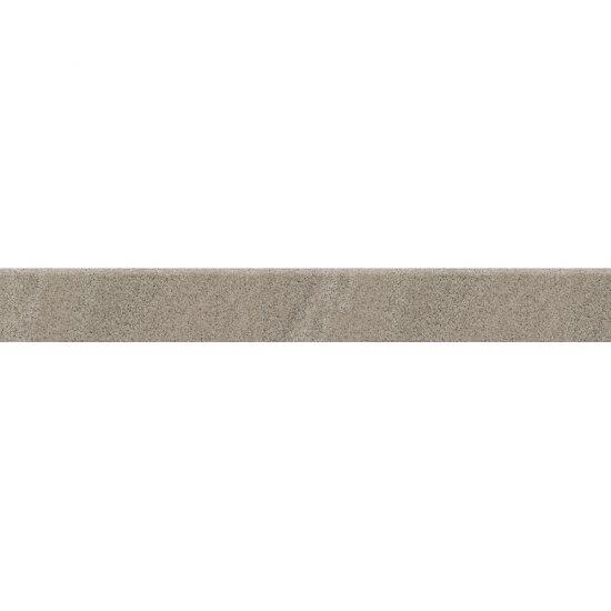 Gres zdobiony KANDO szary cokół mat 7,2x59,4 gat. I