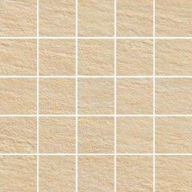 Gres zdobiony SLATE beżowy mozaika mat 29,55x29,55 gat. I