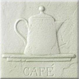 Płytka ścienna AŁTAJ oliwkowa inserto classic CAFE mat 10x10 gat. I